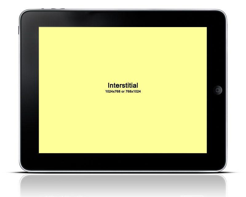 En publicidad digital, llamamos interstitial al formato de anuncio que ocupa toda la página en la que se lanza.