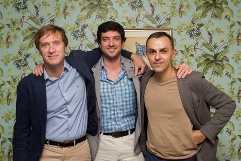 De izquierda a derecha: Olbarri, Ayllon y Cicini