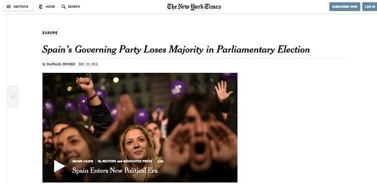 NYT Elecciones generales