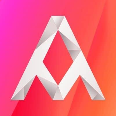 Nuevo logo de Arena Media.