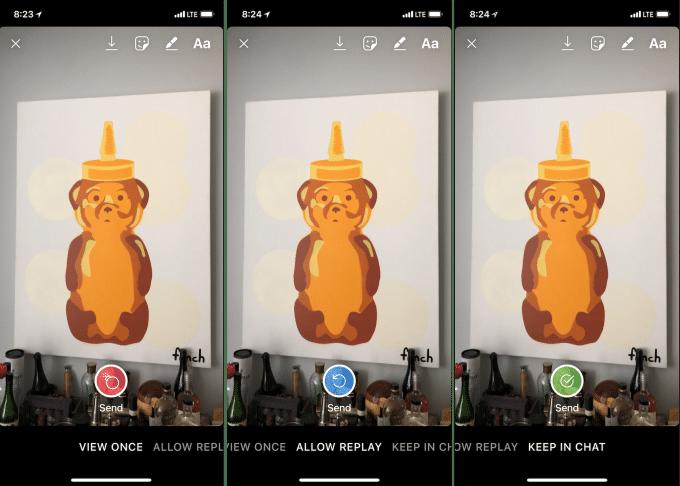 Instagram permite decidir cuándo desaparecerán las fotos en los mensajes directos