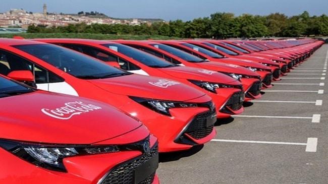 Coca-Cola European Partners incorpora 115 vehículos híbridos a su flota